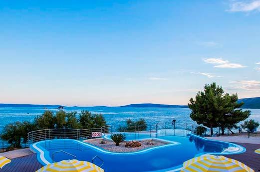 Belvedère Adriatic Kamp Dalmatië - zwembad