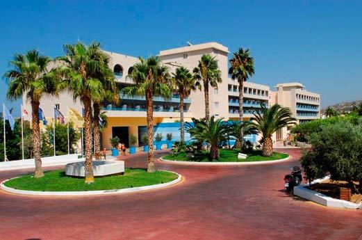 Royal Belvedere Hotel Chersonissos - voorgevel