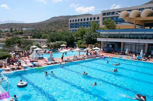 Royal Belvedere Hotel Chersonissos - zwembad