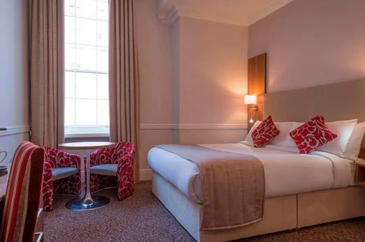 Belvedere Hotel Parnell Square Dublin - hotelkamer