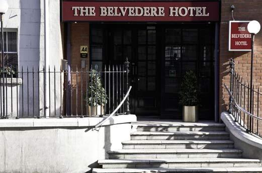 Belvedere Hotel Parnell Square Dublin - voorgevel