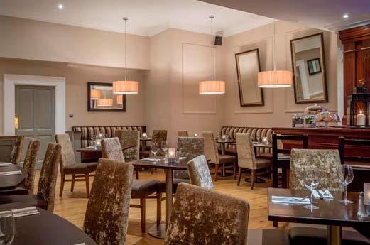 Belvedere Hotel Parnell Square Dublin - restaurant