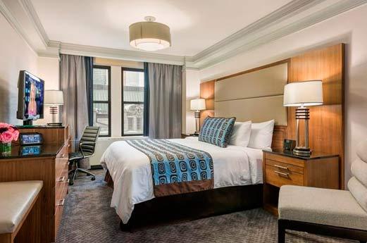Belvedère Hotel New York - hotelkamer