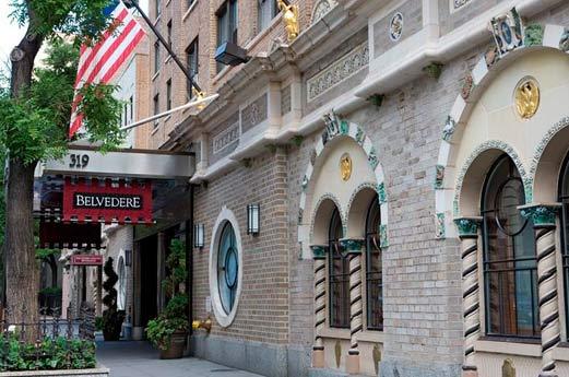 Belvedère Hotel New York - voorgevel