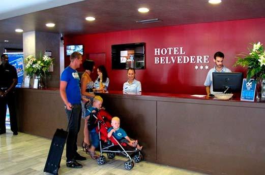 Belvedère Hotel Salou - receptie