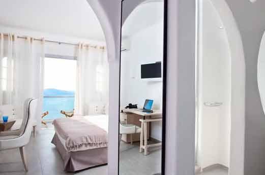 Belvedere Suites Santorini hotelkamer