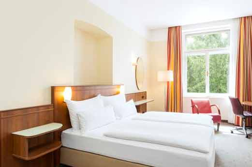 NH Belvedere Wenen hotelkamer