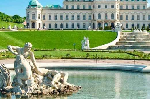NH Belvedere Wenen paleis