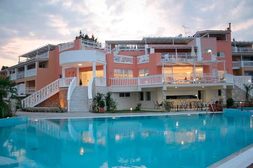 Belvedere Hotel Zakynthos - voorgevel