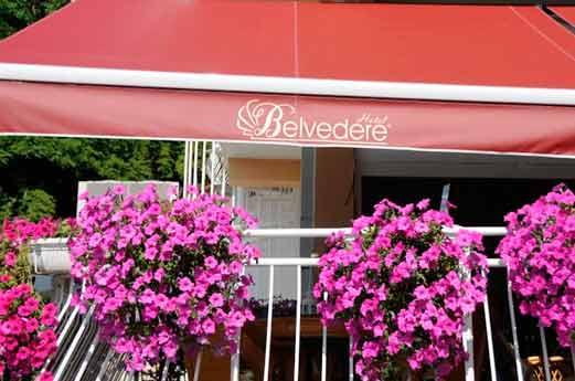Belvedere Hotel Ohrid voorkant