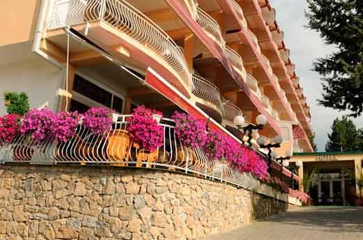 Belvedere Hotel Ohrid voorgevel