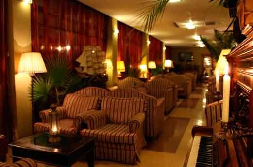 Belvedere Hotel Ohrid lobby