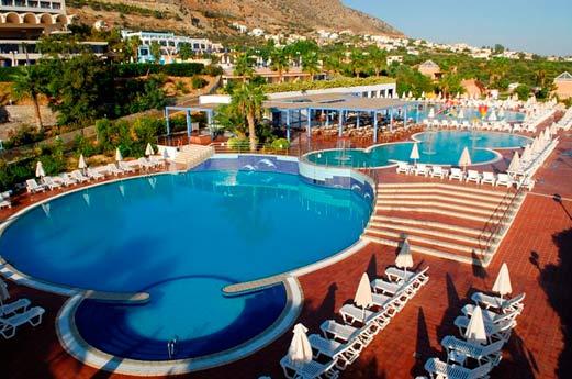 Imperial Belvedère Hotel Chersonissos - zwembad